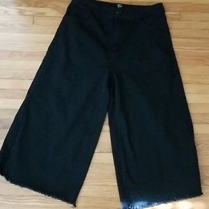 Black Forever21 Widelegged Pants